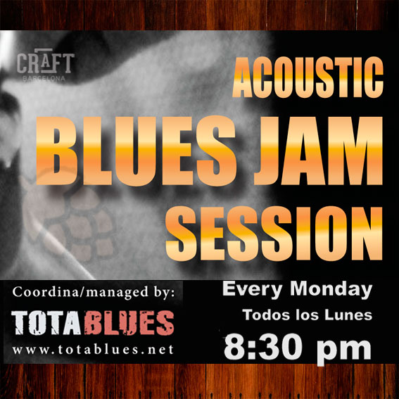CraftBarcelona-A-Blues-Jam-Session-TOTA-Cartel